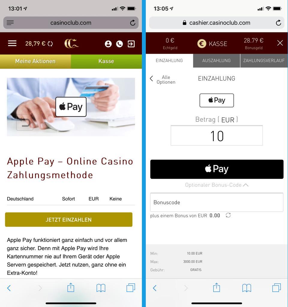 Online Casinos Mit Apple Pay Apple Pay Im Casino