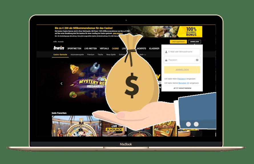 Bwin Bonus Code für den Casino Bereich