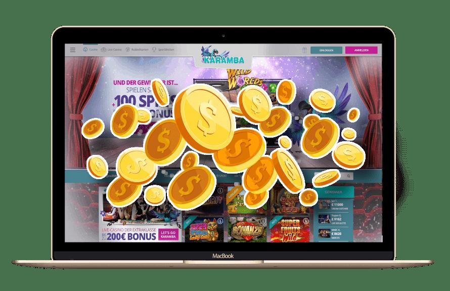 Karamba Bonus Code mit Matchbonus & Freispielen