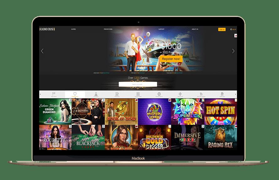 Casino Cruise Bonus Code mit Matchbonus & Freispielen