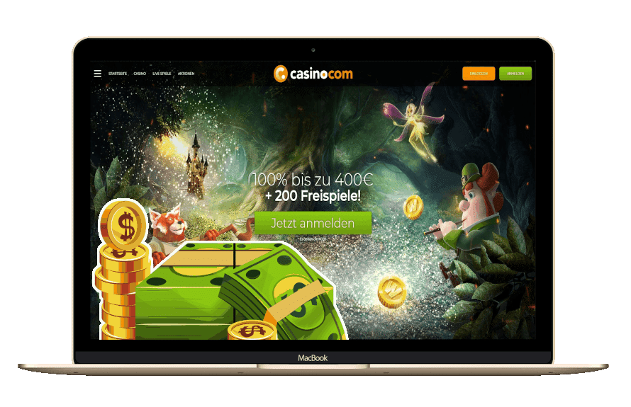 Casino.com Bonus Code mit Freispielen & Matchbonus