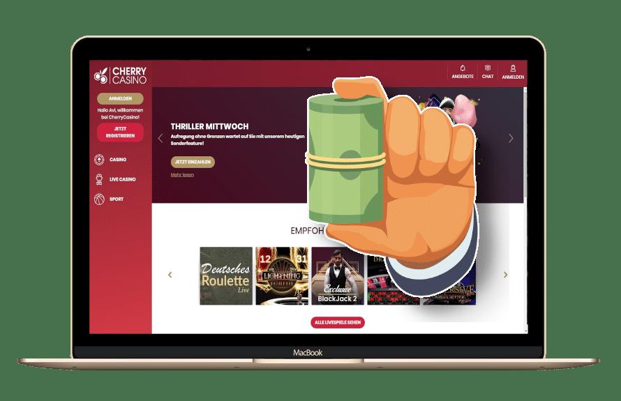 Cherry Casino Bonus Code mit Matchbonus und Freispielen