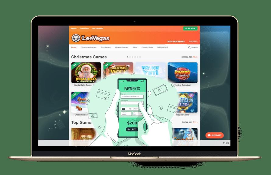 LeoVegas bietet als erster Open Banking an