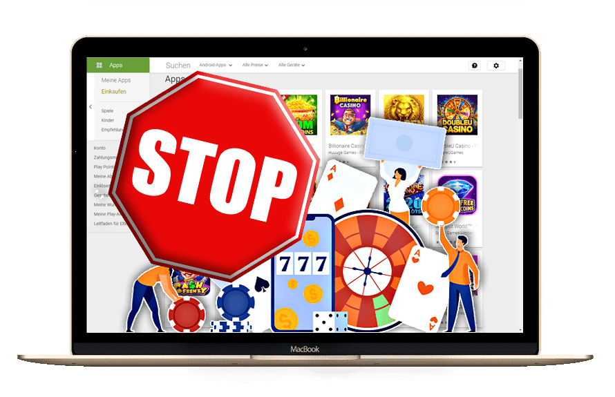 Glücksspiel-Apps: Erneut Klage gegen Apple