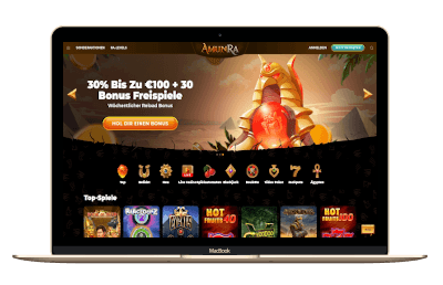 AmunRa Casino Screenshot
