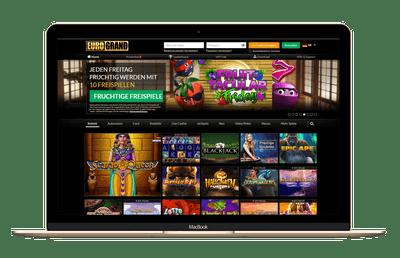 Das EuroGrand Online Casino im gründlichen Test