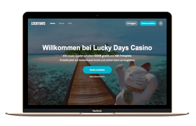 Lucky Days Casino Screenshot