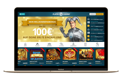 Platin Casino Screenshot