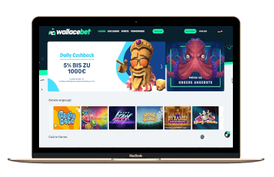 Wallacebet Casino Screenshot
